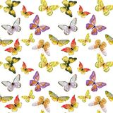 Butterfly pattern royalty free illustration