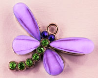 Butterfly pendant Royalty Free Stock Photo