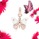 Butterfly pendant, jewelry Royalty Free Stock Photo