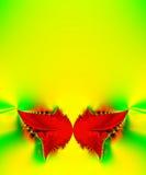 butterfly red Royaltyfri Foto