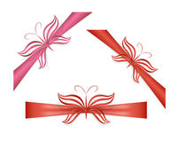 Butterfly ribbons Stock Photography