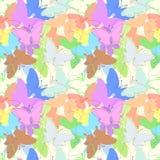 Butterfly seamless pattern Stock Image