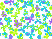 Butterfly seamless pattern Royalty Free Stock Image