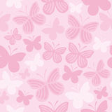 Butterfly seamless pattern. Vector illustration Royalty Free Stock Photos