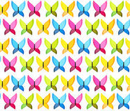 Butterfly Seamless Pattern Background Vector Stock Photography