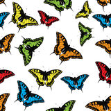 Butterfly Seamless Pattern Background Vector Royalty Free Stock Image