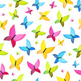 Butterfly Seamless Pattern Background Vector Stock Images