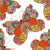 Butterfly seamless pattern. Can be used for wallpaper, website background, textile printing Royalty Free Stock Photos