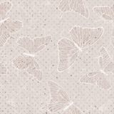 Butterfly seamless pattern Stock Photo