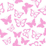 Butterfly seamless Royalty Free Stock Photos