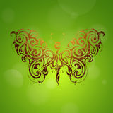 Butterfly shape Royalty Free Stock Images