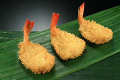 Butterfly shrimp breaded Stock Photos