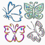 Butterfly sign Stock Photos