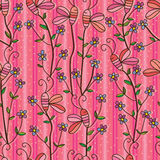Butterfly stick seamless pattern. Illustration abstract butterfly stick seamless pattern vertical lines pink color background texture wallpaper backdrop graphic Stock Images