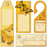 Butterfly Stickers Royalty Free Stock Images