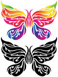 Butterfly Tattoo Royalty Free Stock Photos