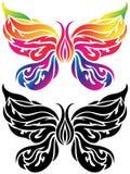 Butterfly Tattoo stock illustration