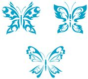 Butterfly tattoo Stock Photos