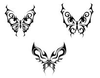 Butterfly tattoo Stock Photography
