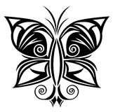Butterfly tattoo Stock Images