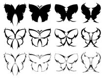 Butterfly tattoo designs Royalty Free Stock Photography