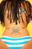 Butterfly Tattu Royalty Free Stock Photo