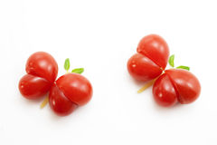 Butterfly tomato Royalty Free Stock Image