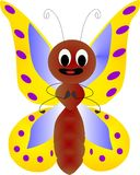 Butterfly. This is the type of butterfly usually found in African soil Stock Image