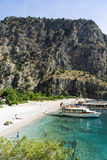BUTTERFLY VALLEY BEACH, TURKEY - JUNE 01 Royalty Free Stock Photography