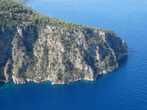 Butterfly valley deep gorge fethiye turkey Royalty Free Stock Images