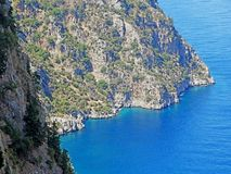 Butterfly valley deep gorge fethiye turkey Royalty Free Stock Photos