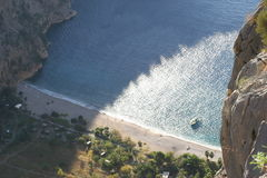 Butterfly valley. High view canyon fethiye turkey Stock Images