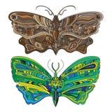 Butterfly - Vector card Stock Photos