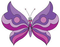 Butterfly (vector clip-art) Stock Image