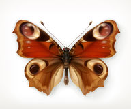 Butterfly vector icon Royalty Free Stock Photo
