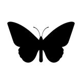 Butterfly vector icon Royalty Free Stock Images