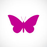Butterfly vector icon Stock Image