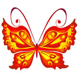 Butterfly, vector illustration Royalty Free Stock Images