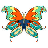 Butterfly vector illustration Royalty Free Stock Photography
