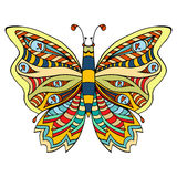 Butterfly vector illustration Royalty Free Stock Images