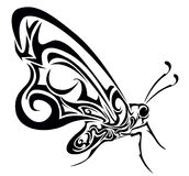 Butterfly vector illustration Stock Images