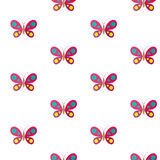 Butterfly. Vector seamless pattern Stock Photo