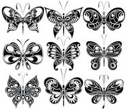 Butterfly. Vector set. Stock Photos