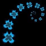 Butterfly vortex - vector illustration Stock Image