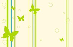 Butterfly wallpaper Royalty Free Stock Photos