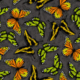 Butterfly wallpaper Royalty Free Stock Photography