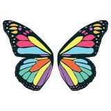 Butterfly wing illustration by crafteroks stock illustration