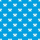 Butterfly wing patterns pattern vector seamless blue Royalty Free Stock Photography