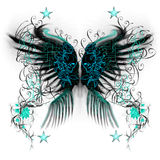 Butterfly wings Royalty Free Stock Photos