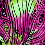 Butterfly wings background with textures and details. Macro painting details stock illustration